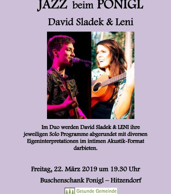 David Sladek & Leni – 22.03.2019