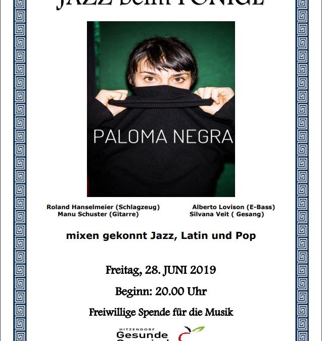 Paloma Negra – 28. Juni 2019 ab 20:00 Uhr