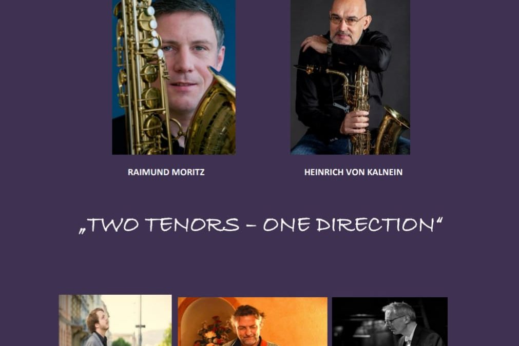 """Two Tenors – one direction"" am 11. Oktober 2019"