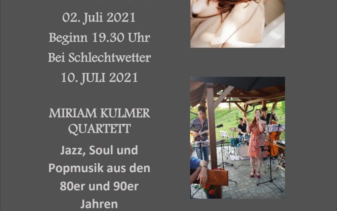 """Open-Air Jazz beim Ponigl ,,Miriam Kulmer Quartett"""""""